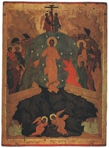 Jesus' Descent into Hell (Icon in the Russian Museum)