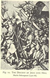 Descent of Jesus Into Hell (Scholgauer engraving)