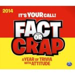 Fact or Crap calendar